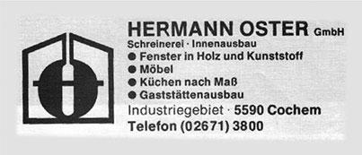 Eine Anzeige von Oster aus dem Jahr 1983