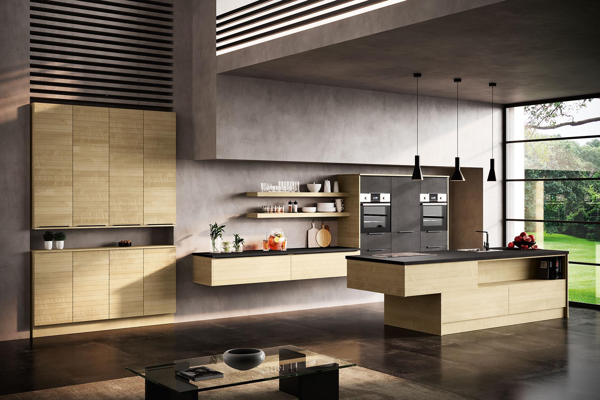 Modell Q-LINE Gesamtansicht, Oster Küche